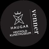 Logo - Venneforeningen Haugar Vestfold Kunstmuseum